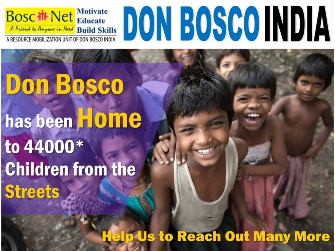 Don Bosco India - A home to children in need.