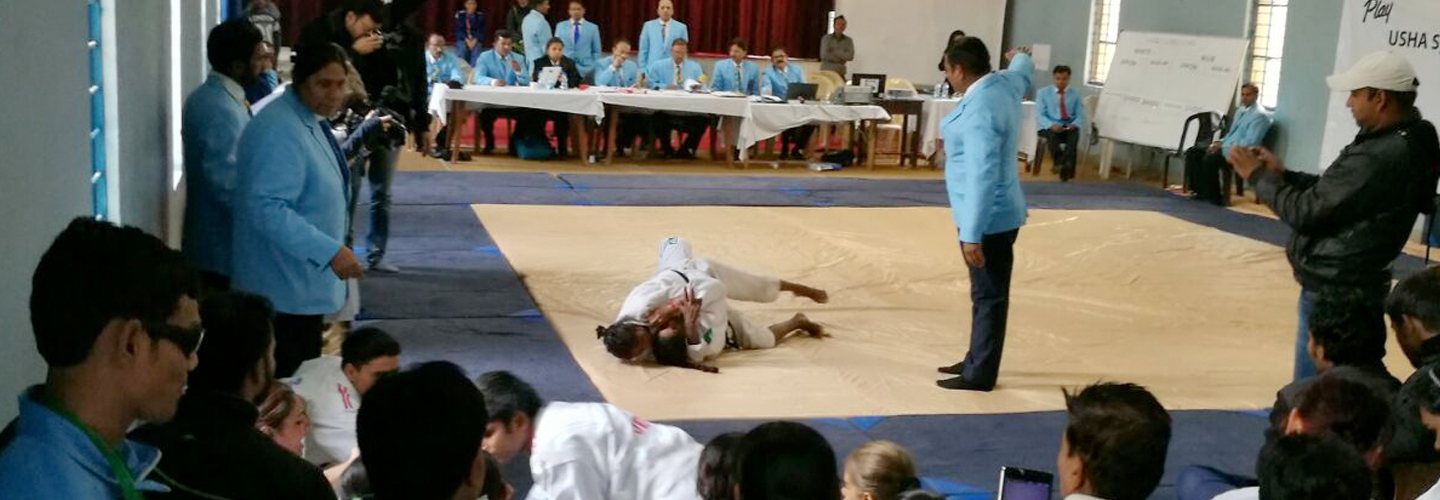 Blind and visually impaired girls lead the charge at Judo Championships in New Delhi