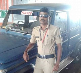 A child labourer to a Police Constable