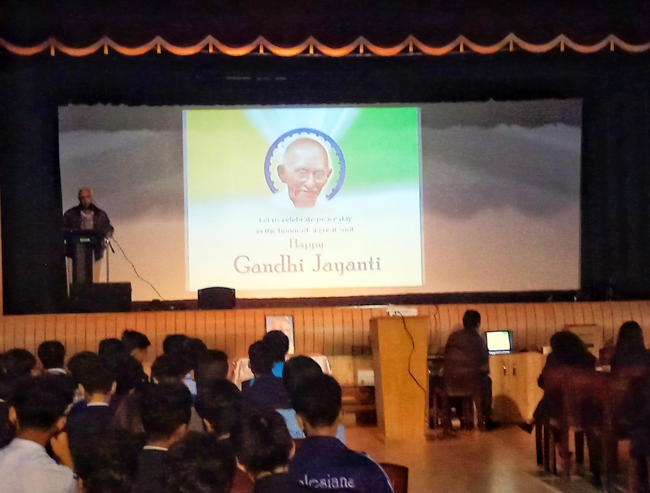 'Gandhi Jayanti: Hill students learn relevance of non-violence