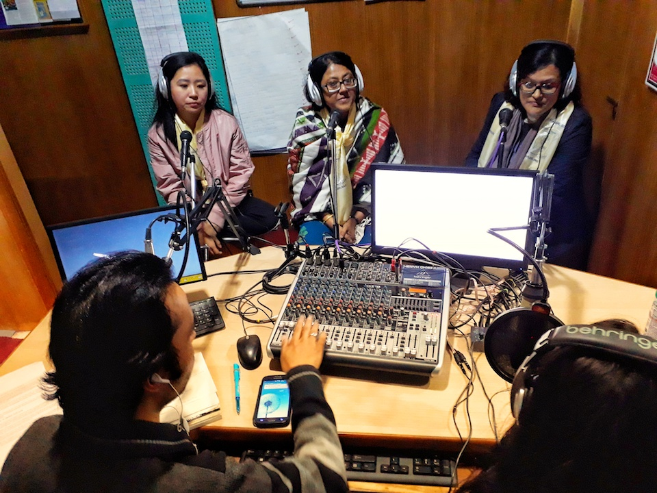 College Radio marks girl's day with first Everest girl climber